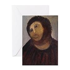 Ecce Homo Redux Greeting Card