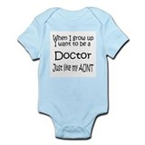 WIGU Doctor Aunt Infant Bodysuit
