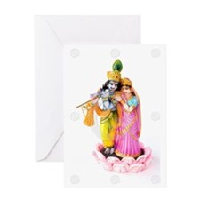 RadhaKrsna Greeting Card