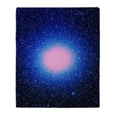 Optical image of globular cluster Om Throw Blanket