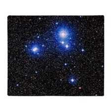 Optical image of the star cluster IC Throw Blanket