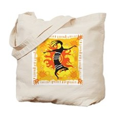 Tribal Dancer Tote Bag