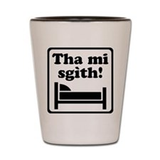 Tha Mi Sgìth (Dubh) for light Shot Glass