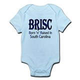 Born 'n' Raised in South Carolina Infant Bodysuit