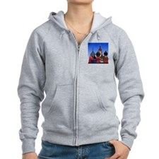 St. Basils Cathedral Zipped Hoody