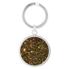 Stars towards the galaxy centre Round Keychain