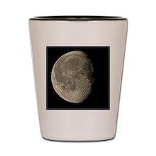 Waning gibbous Moon Shot Glass