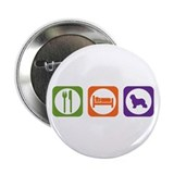 "Eat Sleep Schapendoes 2.25"" Button (100 pack)"