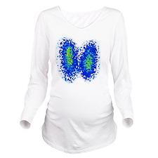 Thyroid gland, scint Long Sleeve Maternity T-Shirt