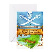 Fort Taylor Pyrate Invasion Greeting Card