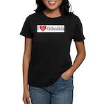 I Heart Chihuahuas Women's Dark T-Shirt
