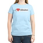 I Heart Chihuahuas Women's Light T-Shirt