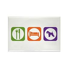 Eat Sleep Lakeland Rectangle Magnet
