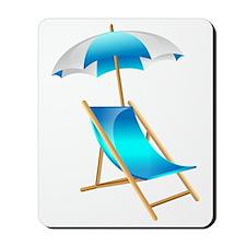 Beach Umbrella Mousepad