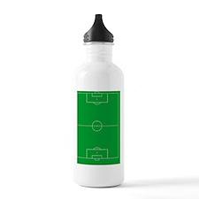 Soccer Field Water Bottle