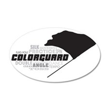 Color Guard Wall Decal