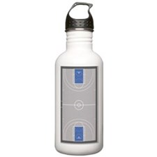 Basketball Court Sports Water Bottle