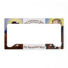 logo License Plate Holder