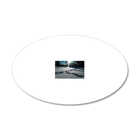 Tahoe's Winter 20x12 Oval Wall Decal