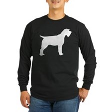 wirehaired pointing griffon copy Long Sleeve T-Shi