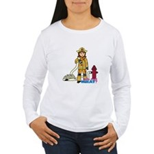 Firefighter Woman T-Shirt