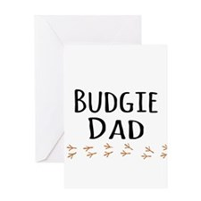 Budgie Dad Greeting Cards