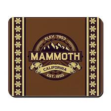 Mammoth Sepia Mousepad