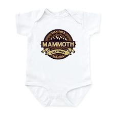 Mammoth Sepia Infant Bodysuit
