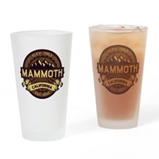 Mammoth Sepia Drinking Glass