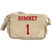 Romney-Jersey-Back Messenger Bag