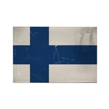 finlandflag Rectangle Magnet
