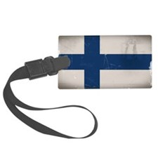 finlandflag Luggage Tag