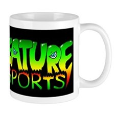 Creature green-yellow-red Mug