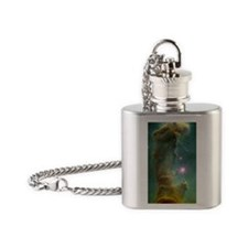 Pillar of Creation Flask Necklace