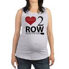 Love 2 Row Maternity Tank Top
