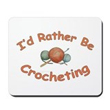 Crochet Mousepad