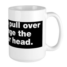 Its time to pull over and change the ai Mug
