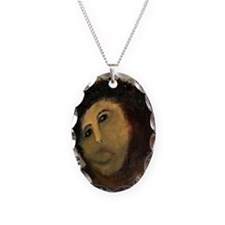 Jesus Fresco Head Necklace
