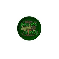 St Patty's Mini Button