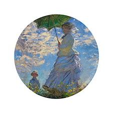 "Monet 3.5"" Button"