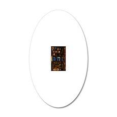 INSKindleNookSleeve 20x12 Oval Wall Decal