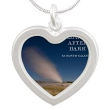 Yellowstone After Dark Calen Silver Heart Necklace