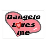dangelo loves me  Postcards (Package of 8)