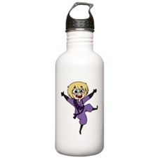 Christmas AIDS Water Bottle