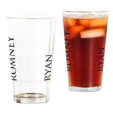 Romney Ryan Flip Flops Drinking Glass
