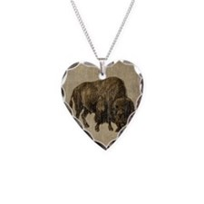 Vintage Bison Necklace