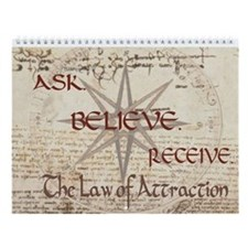 Law of Attraction Wall Calendar