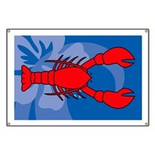 Lobster Large Serving Tray Banner