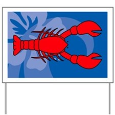 Lobster Large Serving Tray Yard Sign
