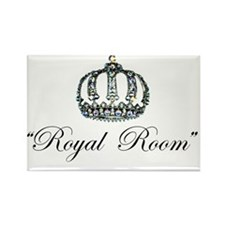 Royal Room Stickers Rectangle Magnet